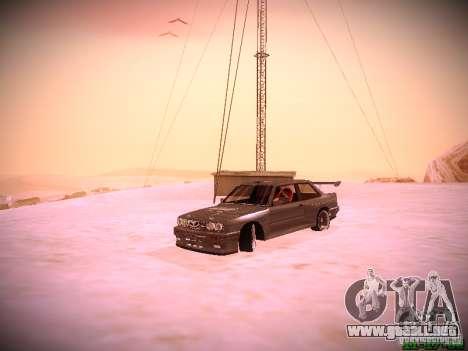 BMW M3 Drift para visión interna GTA San Andreas