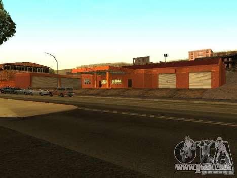 Nuevo garaje de Dorothy para GTA San Andreas