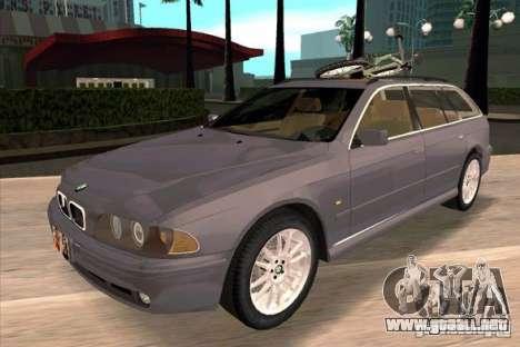 BMW 525 Touring V2 para GTA San Andreas