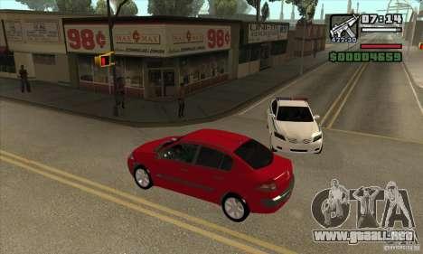 Condujo el rojo-conseguir una estrella para GTA San Andreas