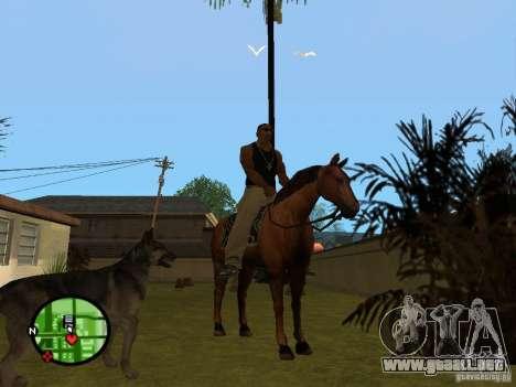 Animales en GTA San Andreas 2.0 para GTA San Andreas