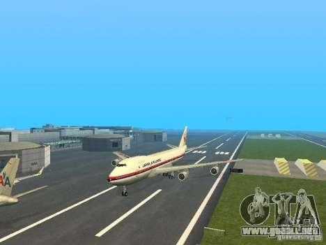 Boeing 747-100 Japan Airlines para GTA San Andreas