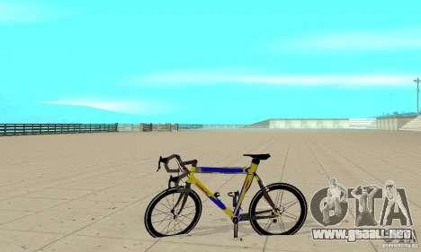 Racing Cycle Turmac Legnano para GTA San Andreas