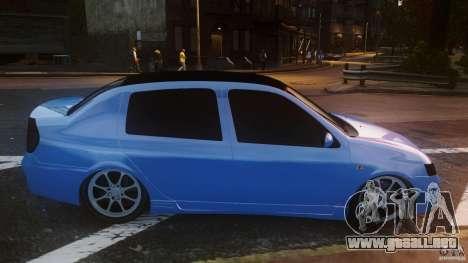 Renault Clio Tuning para GTA 4 left