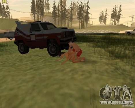 Fiesta de la naturaleza para GTA San Andreas undécima de pantalla