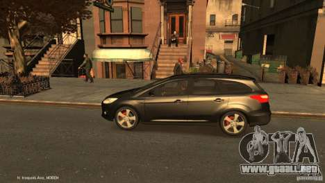 Ford Focus Universal Unmarked para GTA 4 left
