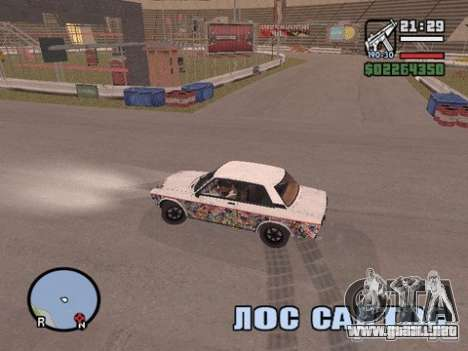Hazyview para GTA San Andreas tercera pantalla