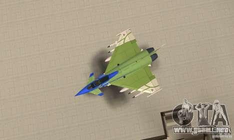 Eurofighter 2010 para la visión correcta GTA San Andreas