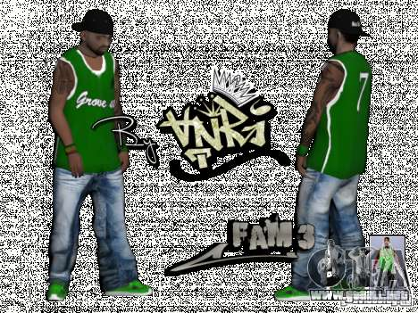 Gagns skinpack by AnRi para GTA San Andreas