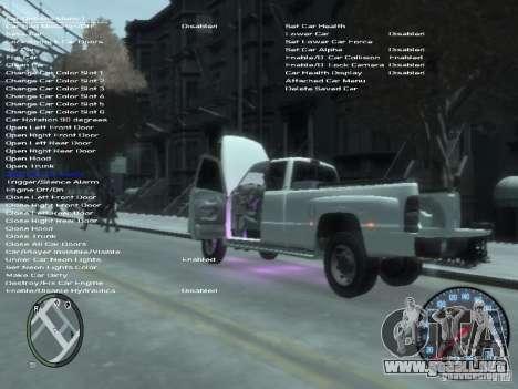 Dodge Ram 3500 para GTA 4 vista superior