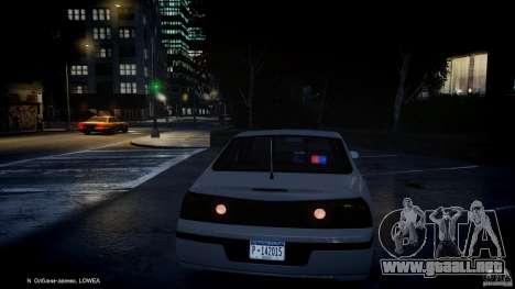 Chevrolet Impala Unmarked Police 2003 v1.0 [ELS] para GTA 4