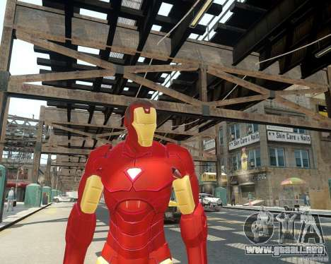 Iron Man Mk3 Suit para GTA 4 tercera pantalla