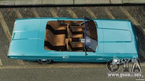Ford Thunderbird Light Custom 1964-1965 v1.0 para GTA 4 visión correcta