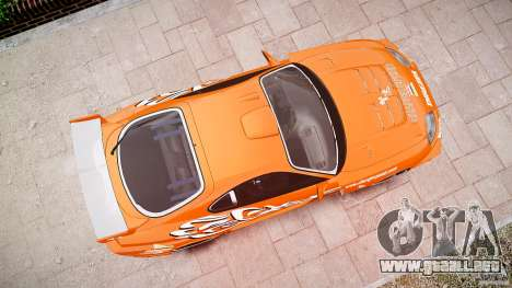 Toyota Supra MK4 Tunable v1.0 para GTA 4 vista desde abajo