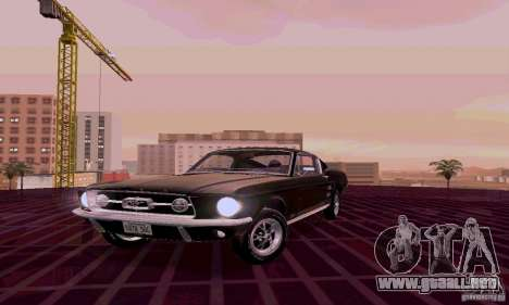 Ford Mustang 1967 para GTA San Andreas