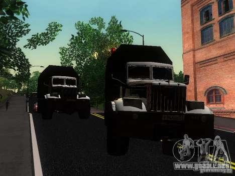 KrAZ-254 para visión interna GTA San Andreas