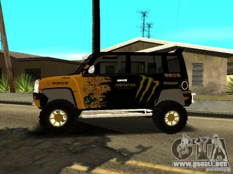Scion xB OffRoad para GTA San Andreas left