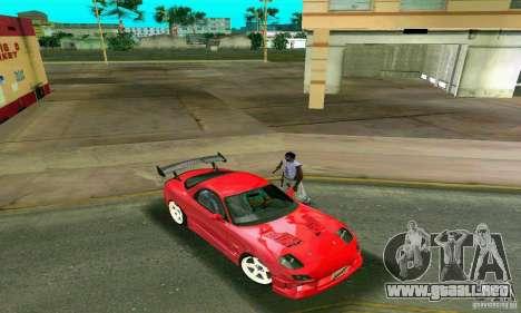Mazda RX7 Charge-Speed para GTA Vice City vista interior