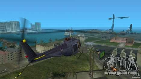 Maverick Bell-Huey para GTA Vice City vista lateral izquierdo