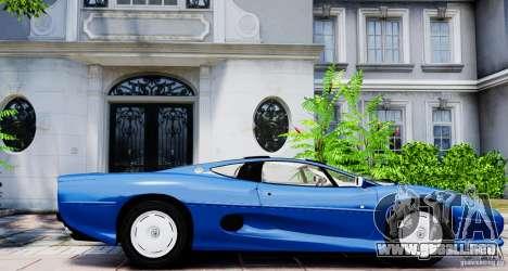 Jaguar XJ 220 para GTA 4 left