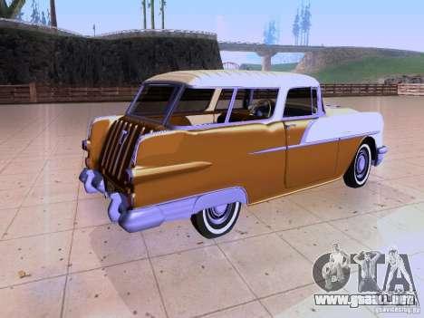 Pontiac Safari 1956 para GTA San Andreas vista posterior izquierda