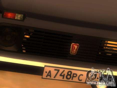 Vaz 2131 NIVA para vista lateral GTA San Andreas