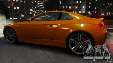Audi S5 Conceptcar para GTA 4 left