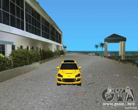 2009 Porsche Cayenne Turbo para GTA Vice City left