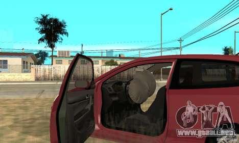 Honda Civic Type R - Stock + Airbags para vista lateral GTA San Andreas