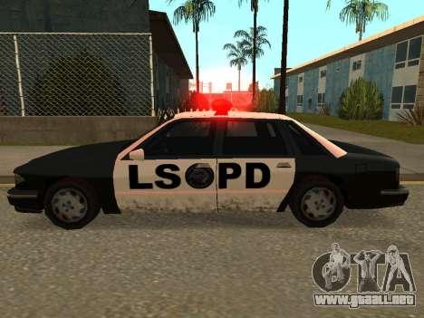 Police Los Santos para GTA San Andreas left