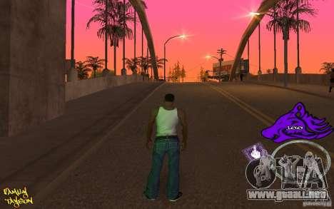 C-HUD by Roodney para GTA San Andreas tercera pantalla