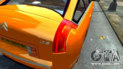 Citroen C6 para GTA 4 left
