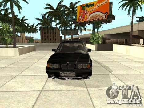 BMW E34 Alpina B10 Bi-Turbo para GTA San Andreas left