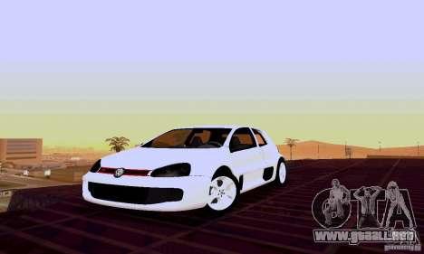 Volkswagen Golf 5 GTI W12 para GTA San Andreas
