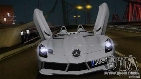 Mercedes-Benz SLR Stirling Moss 2005 para GTA San Andreas