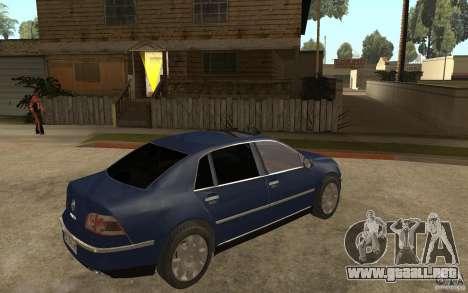Volkswagen Phaeton 2005 para la visión correcta GTA San Andreas