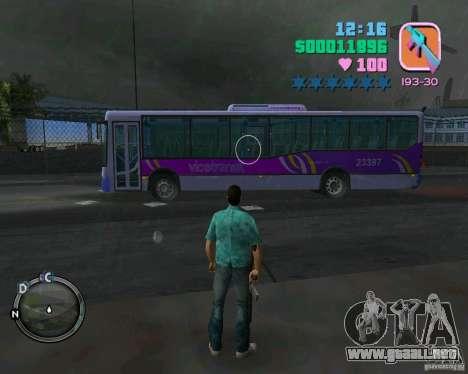 Marcopolo Bus para GTA Vice City left