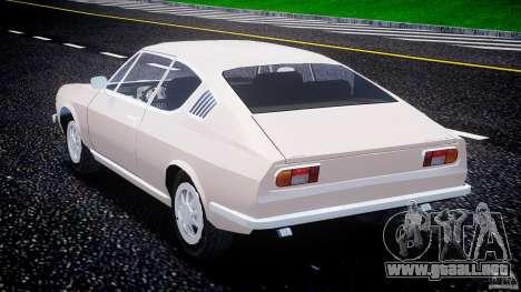 Audi 100 Coupe S para GTA 4 vista lateral