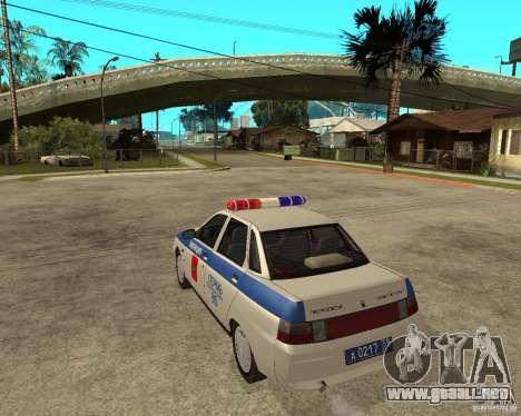 LADA 21103 DPS para GTA San Andreas left