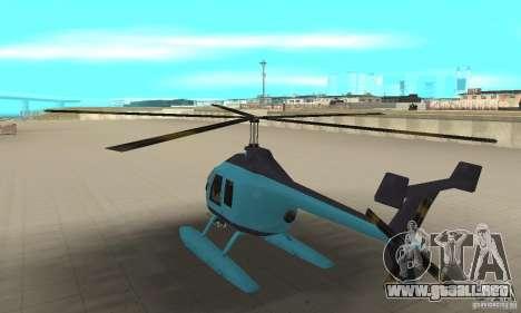 Nuevo Seaspar para GTA San Andreas vista posterior izquierda