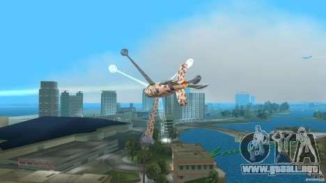 Conceptual Fighter Plane para GTA Vice City left