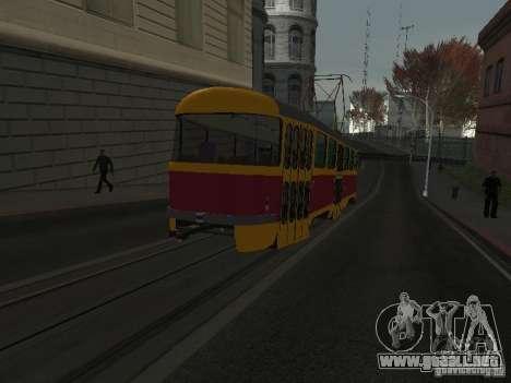Tatra T3 para GTA San Andreas left