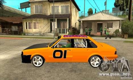Audi 80 para GTA San Andreas left