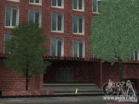 Nuevo hospital de texturas para GTA San Andreas segunda pantalla