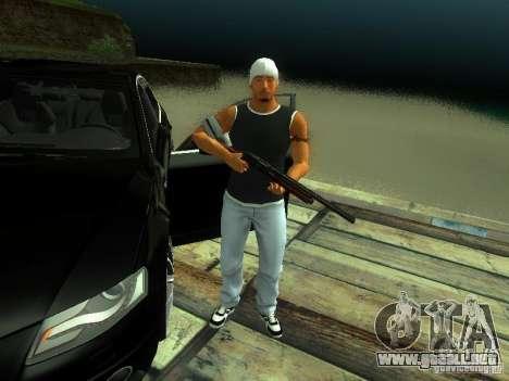 Chico en FBI 2 para GTA San Andreas segunda pantalla