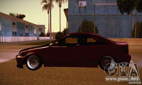 Honda Civic Tuning 2012 para GTA San Andreas left