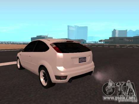 Ford Focus II para GTA San Andreas vista posterior izquierda