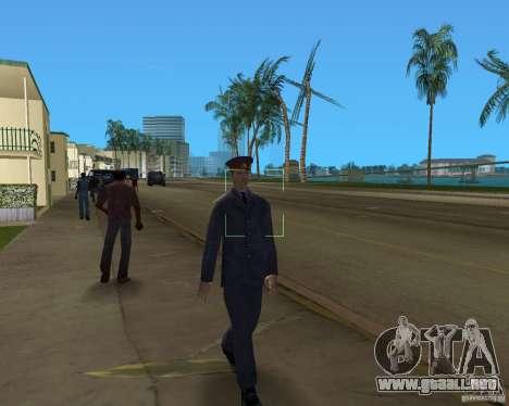 POLICÍA rusa para GTA Vice City sucesivamente de pantalla