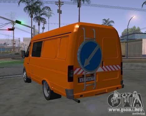Patrulla gacela 2705 para GTA San Andreas left