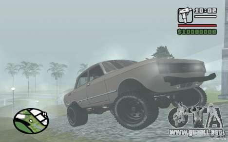 AZLK-2140 4x4 para GTA San Andreas left